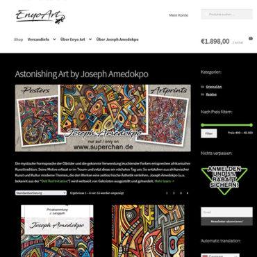 EnyoArt Website
